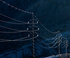 Silver power lines