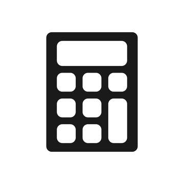 calculator icon, flat design best calculator icon