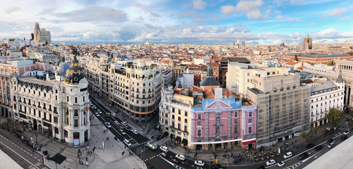 Madrid Cityscape Panorama