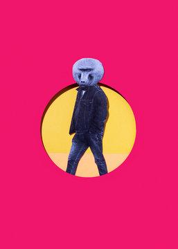 Baboon man