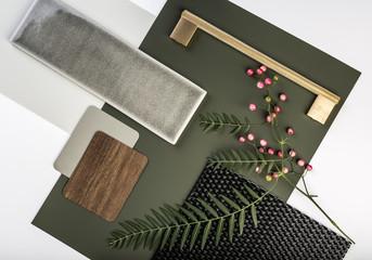 Nature inspired interior finishes