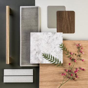 Organic interior palette