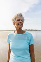Outdoor Portrait of Senior Woman