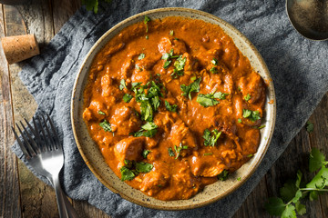Canvas Prints Hot chili peppers Homemade Chicken Tikka Masala