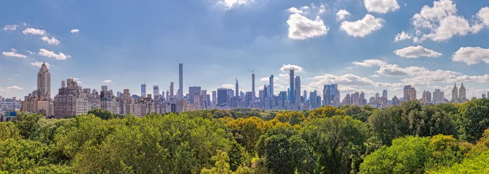 New York Midtown Manhattan panoramic view