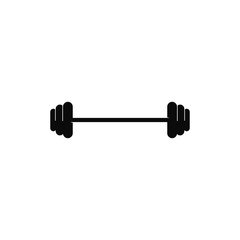 Barbell, Dumbbell Gym Icon Logo Template gym Badge, Fitness Logo