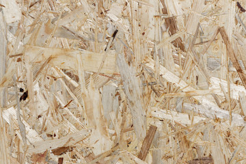 Holztextur - Hintergrund einer Grobspanplatte