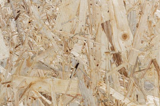 Holzstruktur - Hintergrund einer Grobspanplatte