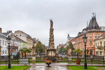 Wall Mural - Plague Column, Kosice, Slovakia
