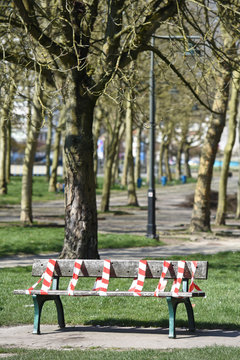 banc parc interdit prevention covid-19 coronavirus