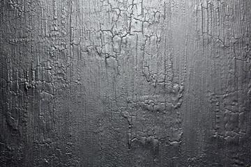 Foto auf AluDibond Brennholz-textur Burnt wood texture