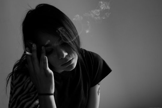 Girl With Depression Goes Through Mental Health Issues