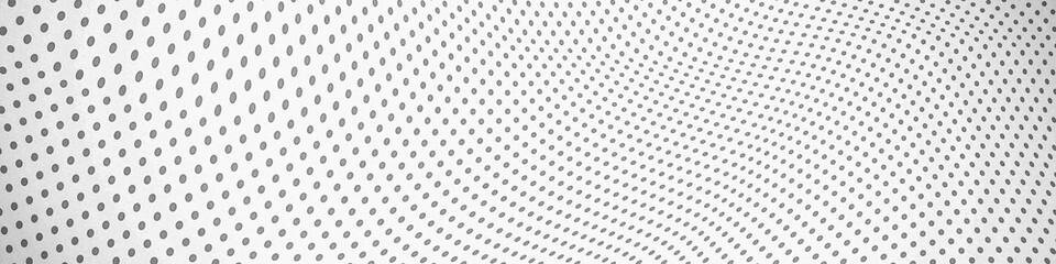 Abstract background with dots and circles. Dot grid wave.