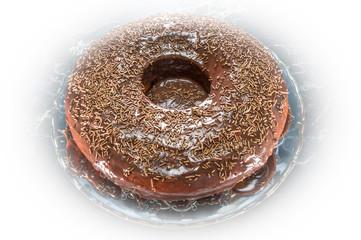 Chocolate and carrot cake
