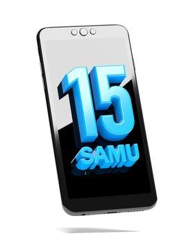 composer le 15 pour appeler le SAMU