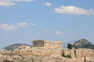 Canvas Prints Athens Parthenon Temple on the Acropolis of Athens, Greece