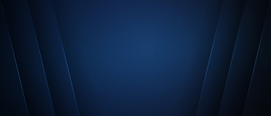 Blue dark background for wide banner with symmetric light