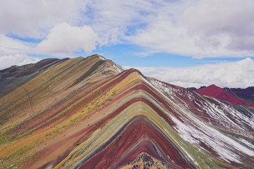 Poster Rainbow Mountain in Cusco, Peru