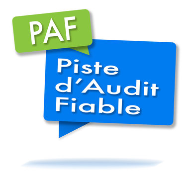 French PAF initials in colored bubbles