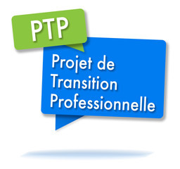French PTP initials in colored bubbles