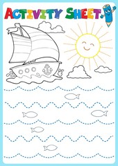 Canvas Prints For Kids Activity sheet topic image 2