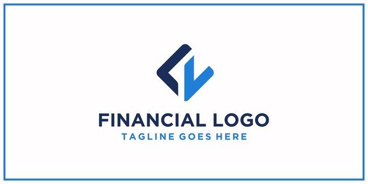 LL or LV logo design inspiration