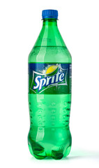 Sprite on white background