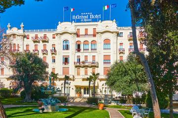 The Grand Hotel in Rimini