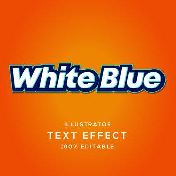 Illustrator Text Effect