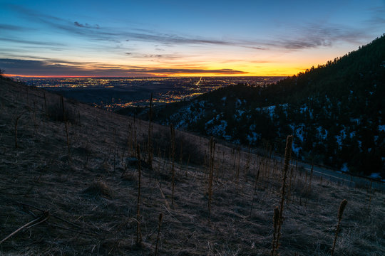 Sunrise on Lookout Mountain - Golden, Colorado