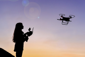 drone flying preparations and complex control