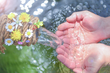 importance of hygiene, clean and healthy individuals and pure clean water
