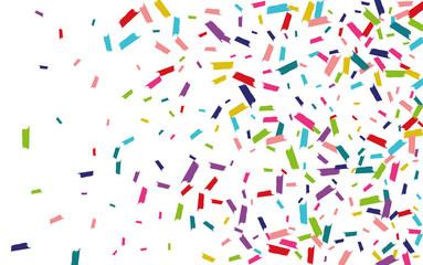 Fototapeta Color Fun Rain Wallpaper. Splash Wallpaper. Shine Festival Background. Rainbow Invitation Background.