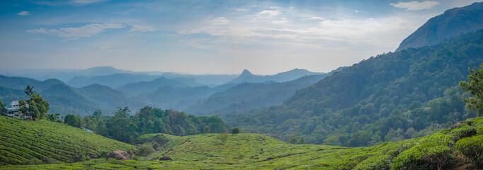 Chithirapuram View Point, Kerala, India Fototapete