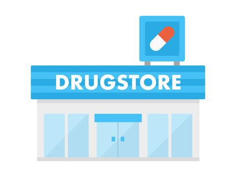 薬局のイラスト