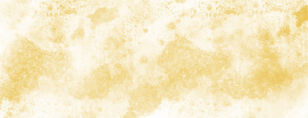 Yellow watercolor background for your design, watercolor background concept, vector... Wall mural
