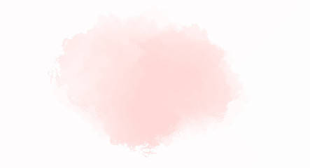 Fototapeta Soft Pink watercolor background for your design, watercolor background concept, vector. obraz