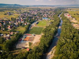 Fototapeta Czarny Dunajec Podhale Podkarpackie Poland River obraz