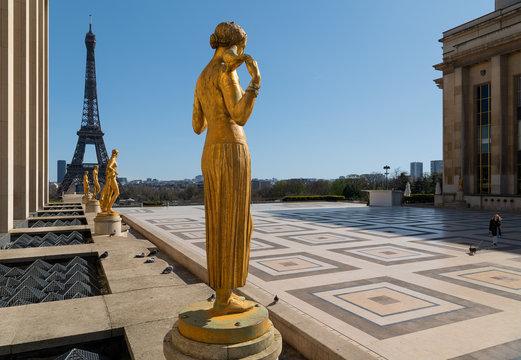 Paris sous confinement