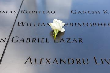 Ground Zero World Trade Center 9/11 Memorial September 11 11th 2001 New York Manhattan