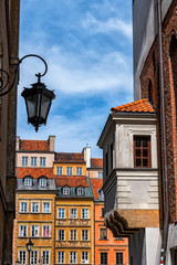In The Old Town Of Warsaw In Poland