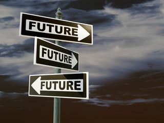 Different future scenarios