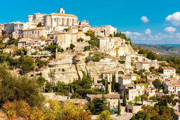 Fototapete - Gordes in central Provence, France