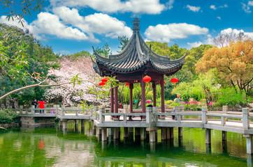 Garden scenery of Guyi Garden, Shanghai, China Fototapete