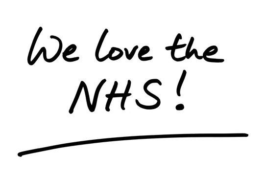 We love the NHS!