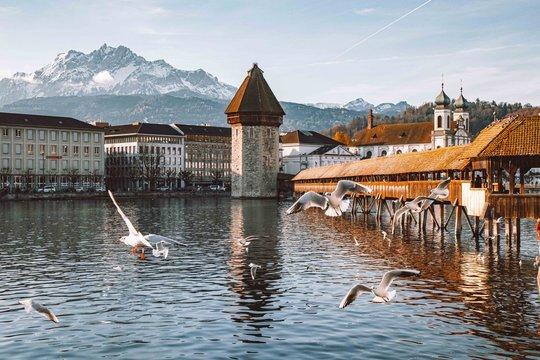 Luzerns Kapellbrücke