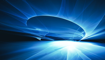 Wall Mural - futuristic technology background