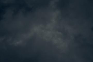 Dark Gloomy sky with stormy clouds Fotobehang