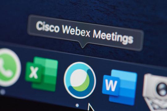Cisco webex meeting program