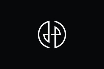 Minimal elegant monogram art logo. Outstanding professional trendy awesome artistic H HO OH initial based Alphabet icon logo. Premium Business logo White color on black background